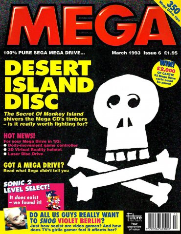 MEGA Issue 06 (March 1993)