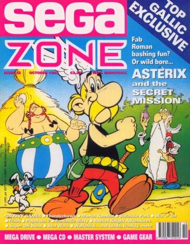 Sega Zone Issue 12 (October 1993)