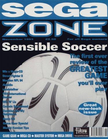 Sega Zone Issue 13 (November 1993)