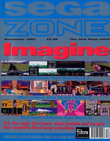 Sega Zone Issue 14 (December 1993)