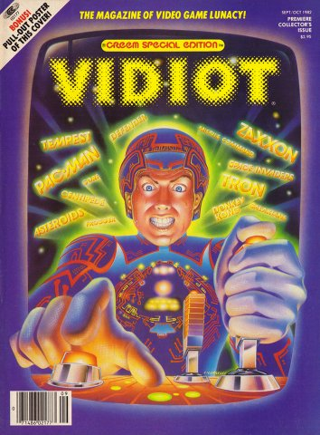 Vidiot Issue 1 (September / October 1982)