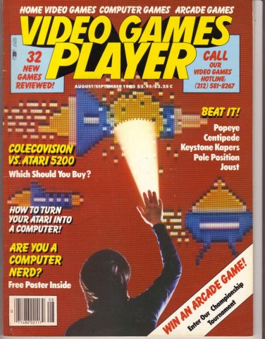 Video Games Player 2 (August / September 1983)