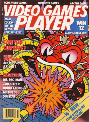 Video Games Player 3 (October / November 1983)