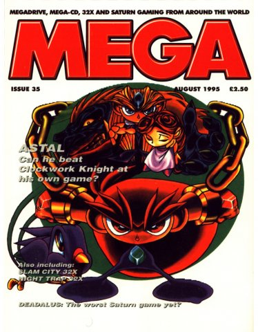 MEGA Issue 35 (August 1995)