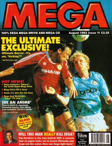 MEGA Issue 11 (August 1993)