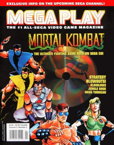 Mega Play Vol.5 No.2 (April 1994)