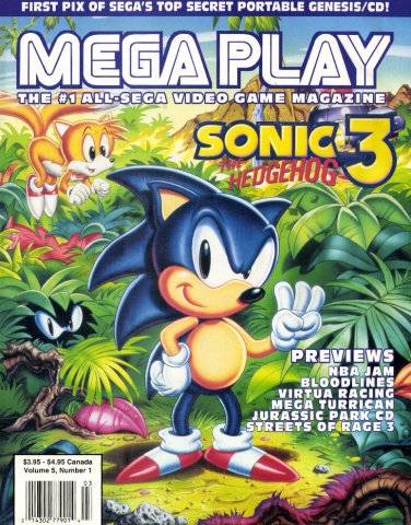 Mega Play Vol.5 No.1 (February 1994)