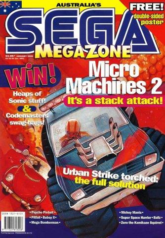 Sega MegaZone 47 (January 1995)