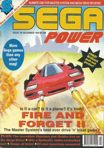 Sega Power Issue 13 (December 1990)