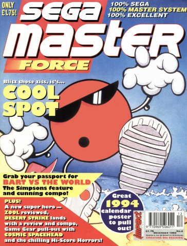 Sega Master Force 06 (December 1993)