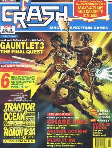 Crash 85 (February 1991)