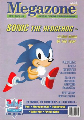 MegaZone 19 (January / February 1992)