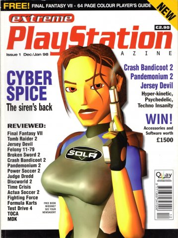 Extreme Playstation Issue 01 (December 1997 / January 1998)