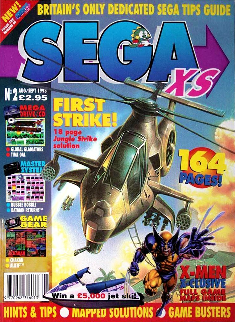 Sega XS Issue 02 (August/September 1993)