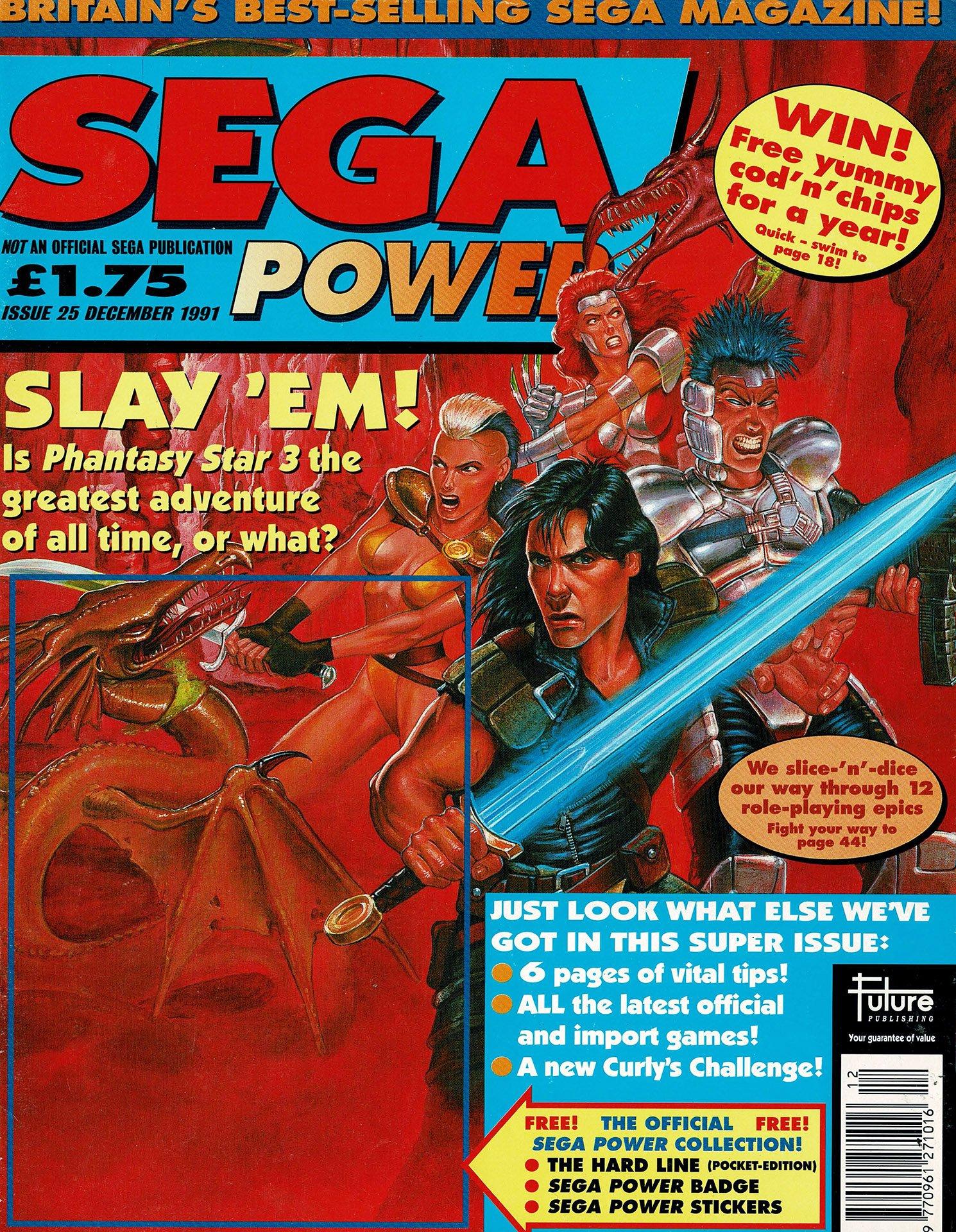 Sega Power Issue 25 (December 1991)