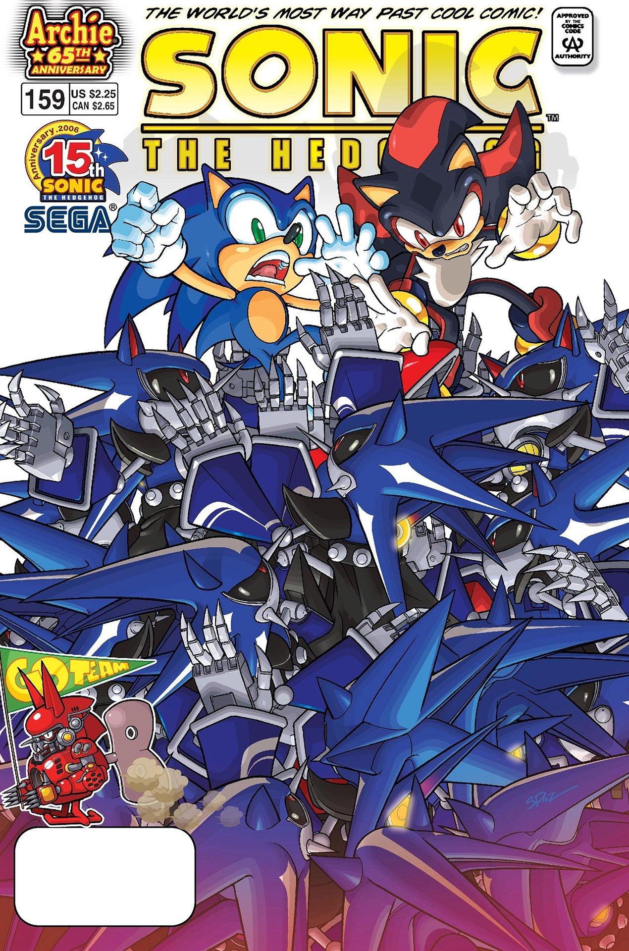 Sonic the Hedgehog 159 (April 2006)