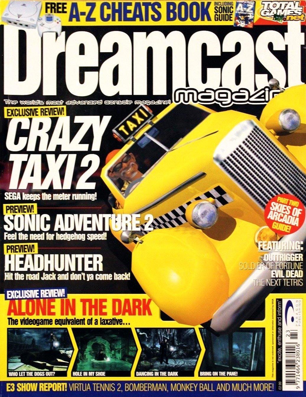 Dreamcast Magazine 23 (June 2001)