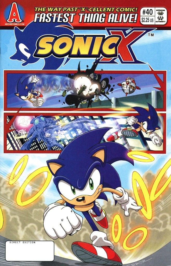 Sonic X 040 (February 2009)