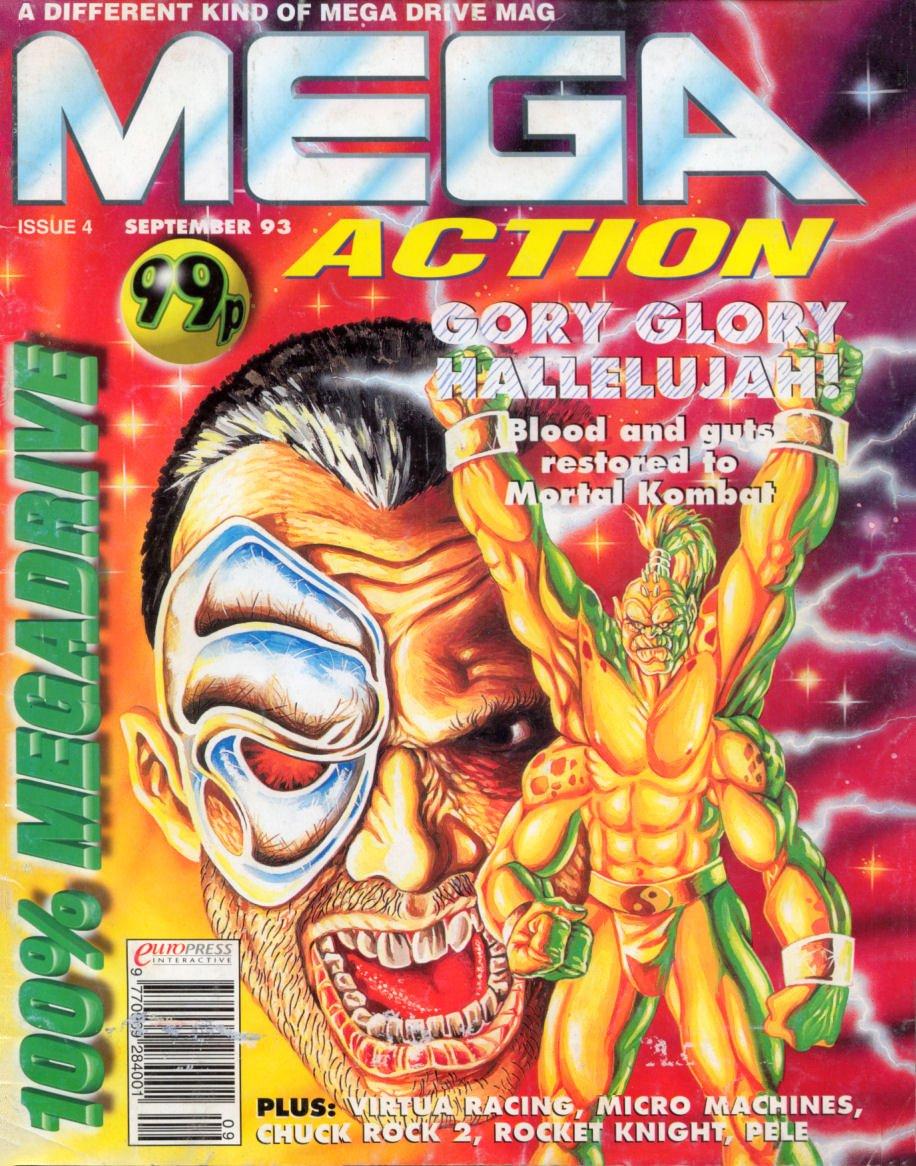 Mega Action 04 (September 1993)