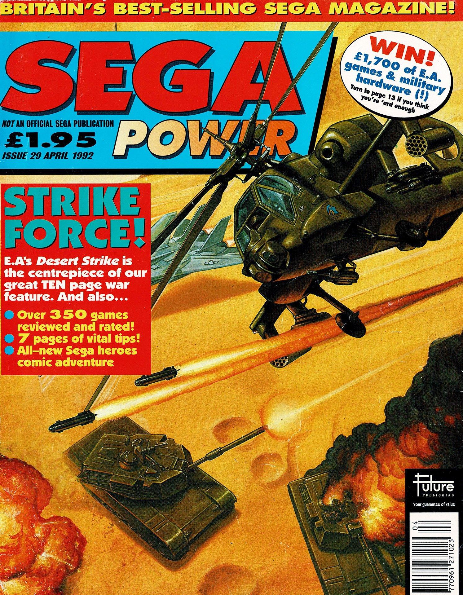 Sega Power Issue 29 (April 1992)