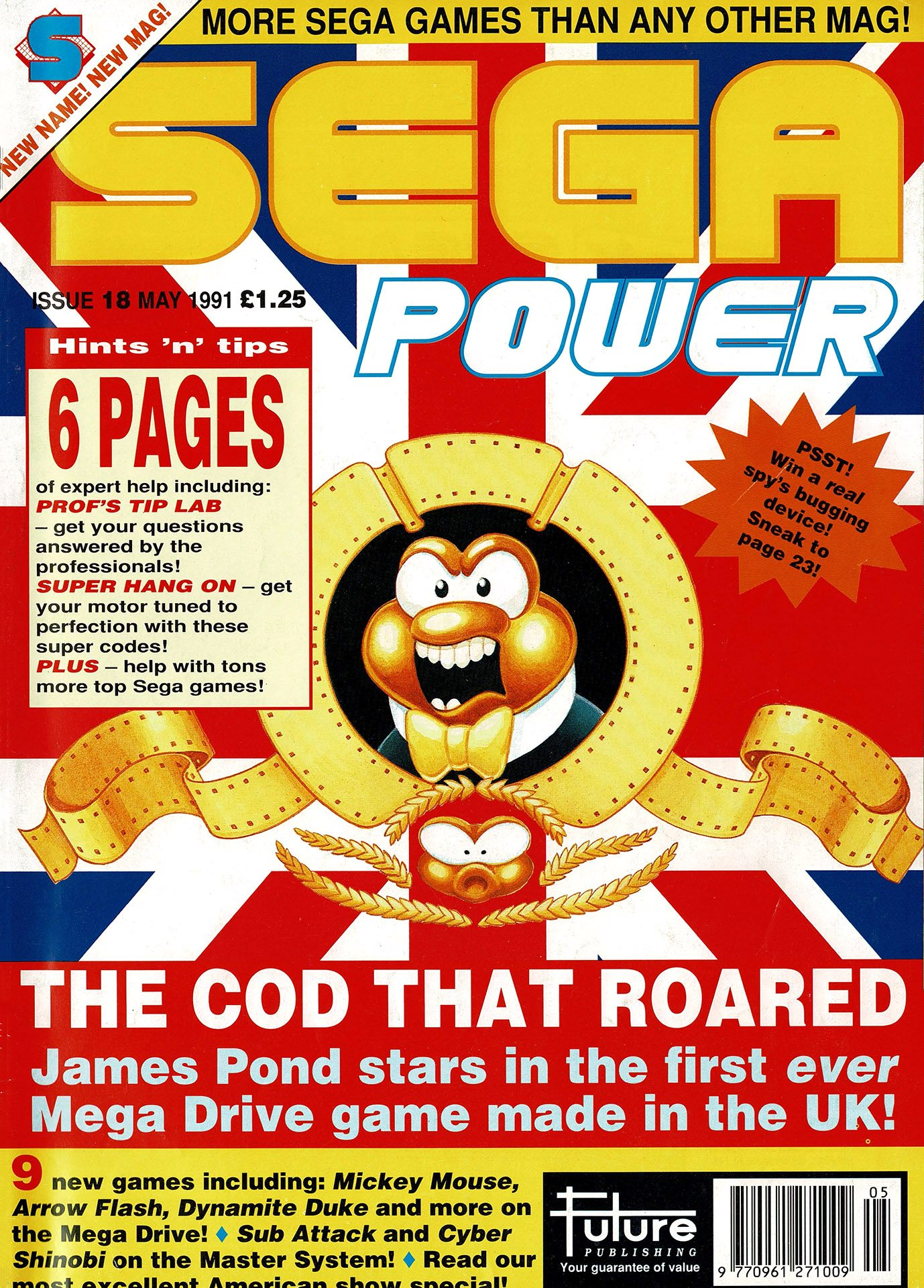 Sega Power Issue 18 (May 1991)