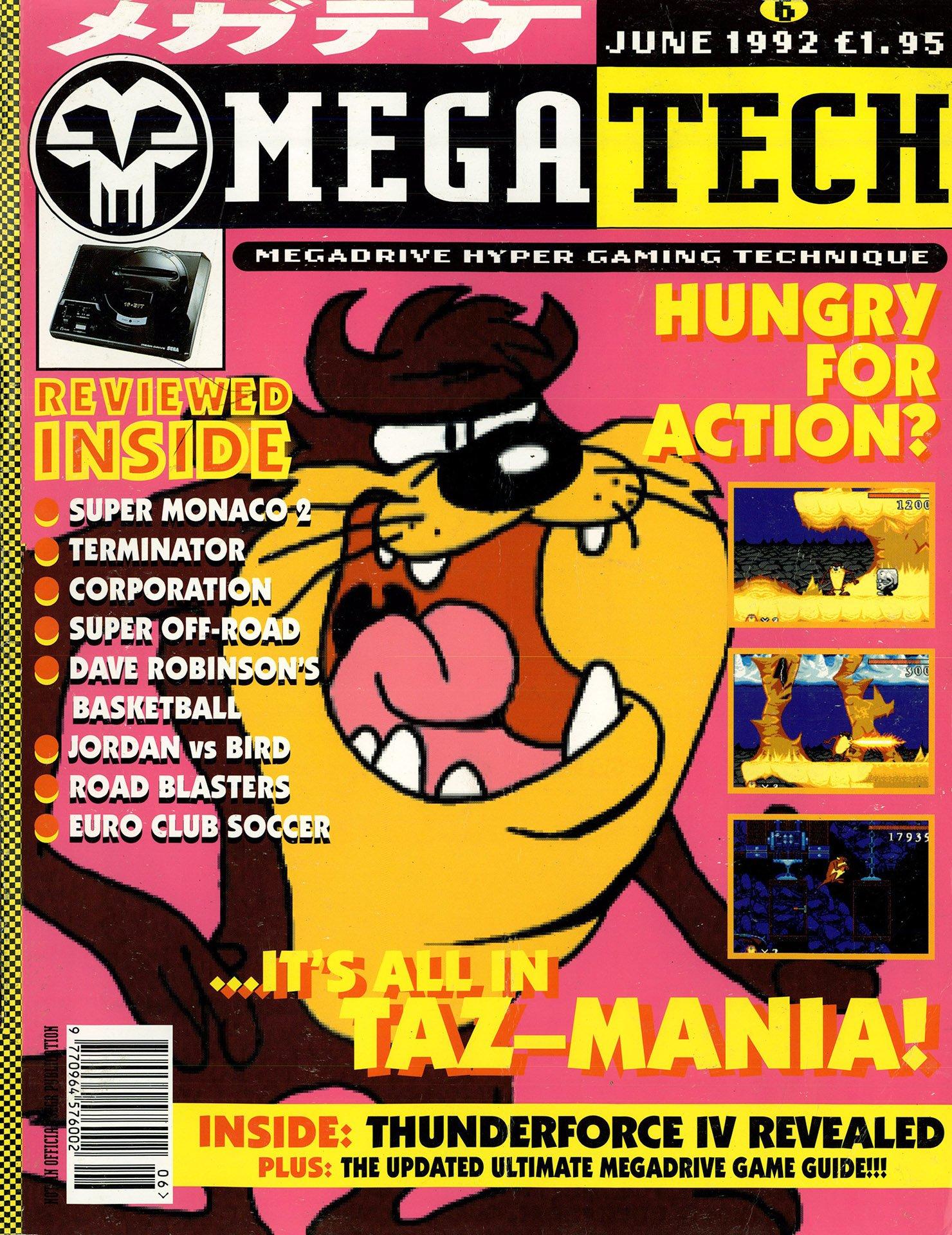 MegaTech 06 (June 1992)