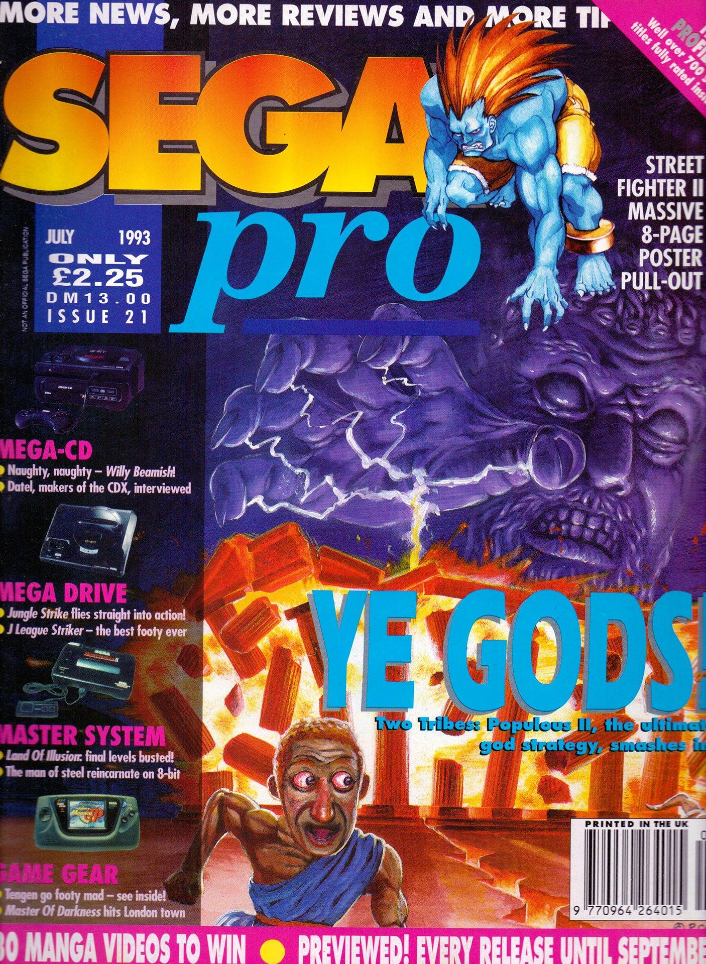 Sega Pro 21 (July 1993)