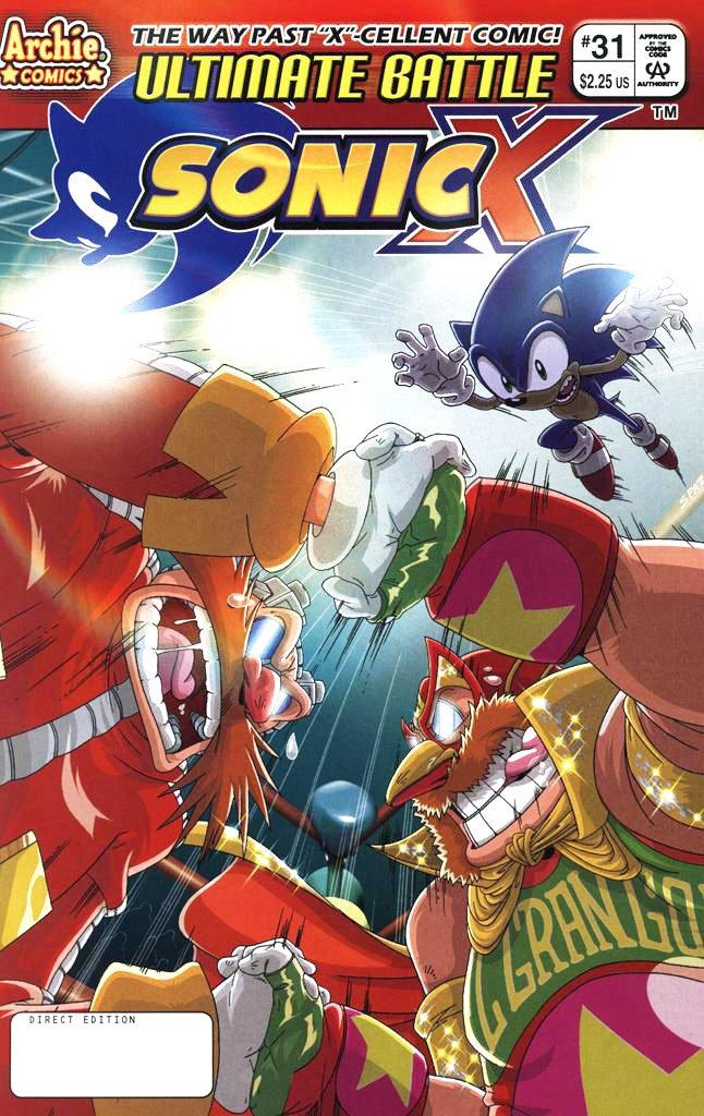 Sonic X 031 (May 2008)