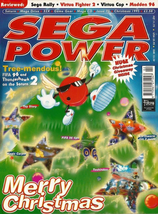 Sega Power Issue 75 (Christmas 1995)