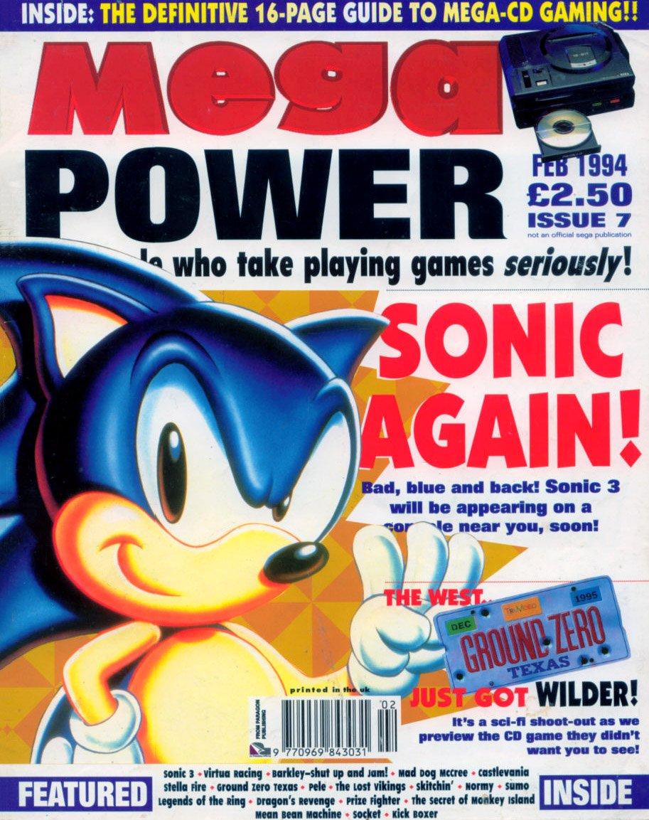 Mega Power 07 (February 1994)