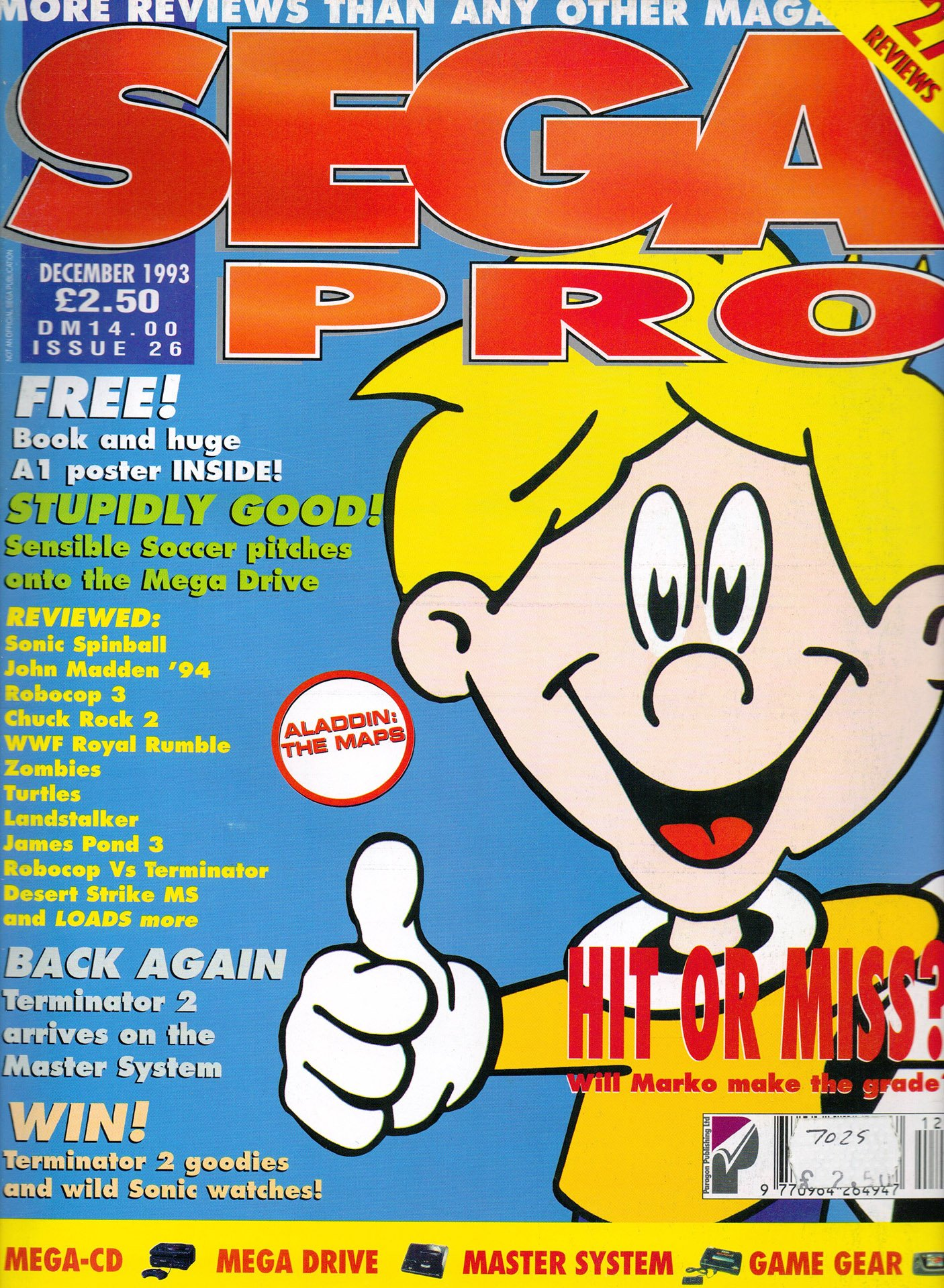 Sega Pro 26 (December 1993)