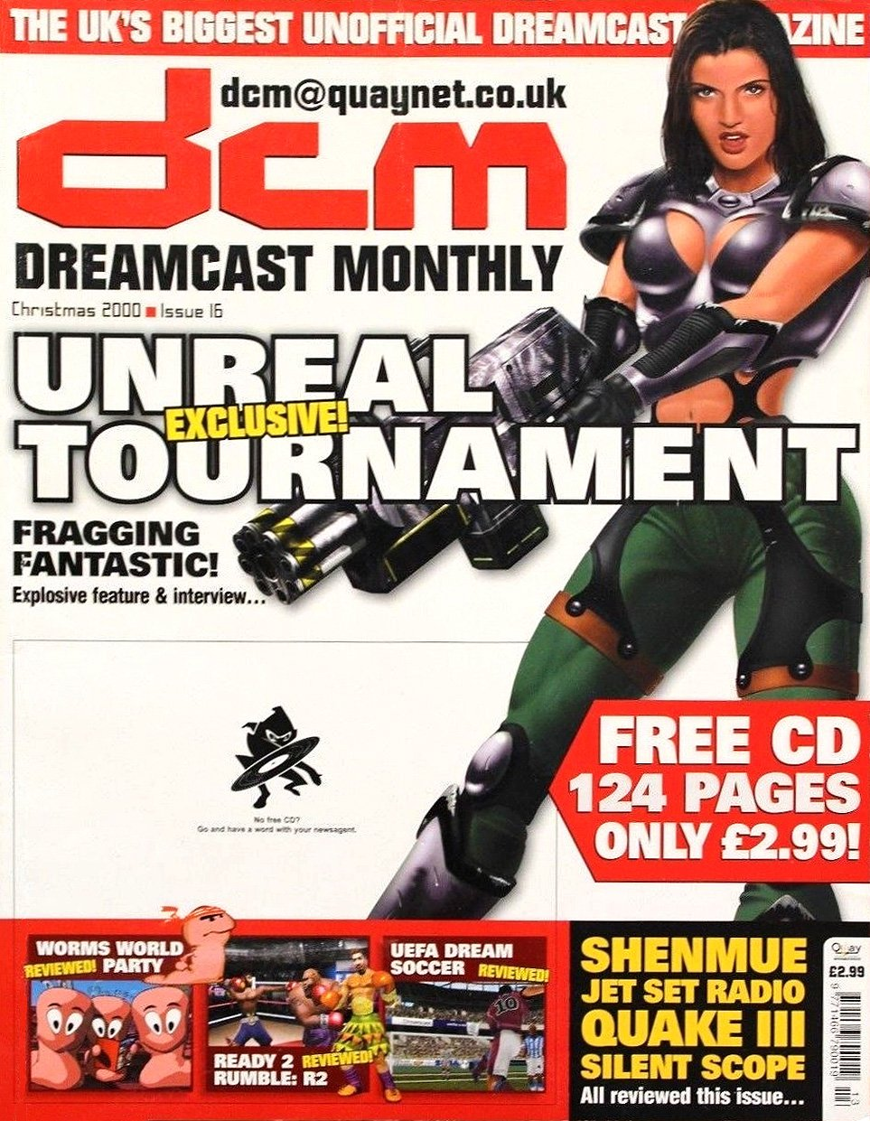 Dreamcast Monthly Issue 16 (Christmas 2000)