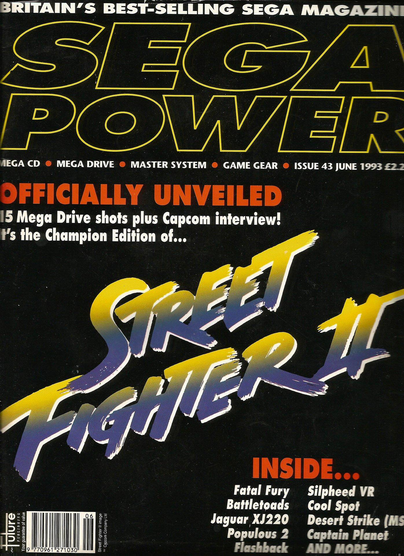 Sega Power Issue 43 (June 1993)
