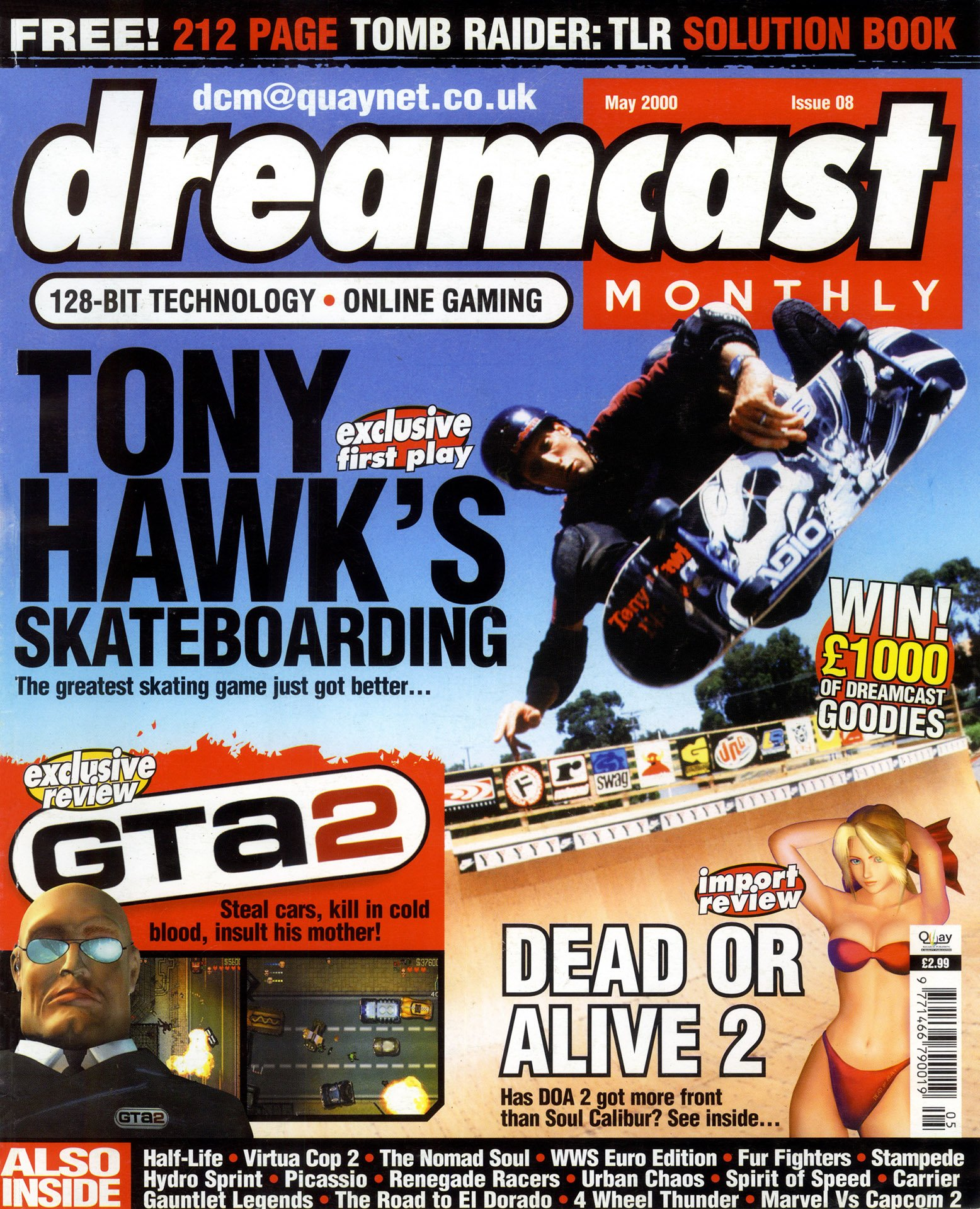 Dreamcast Monthly Issue 08 (May 2000)