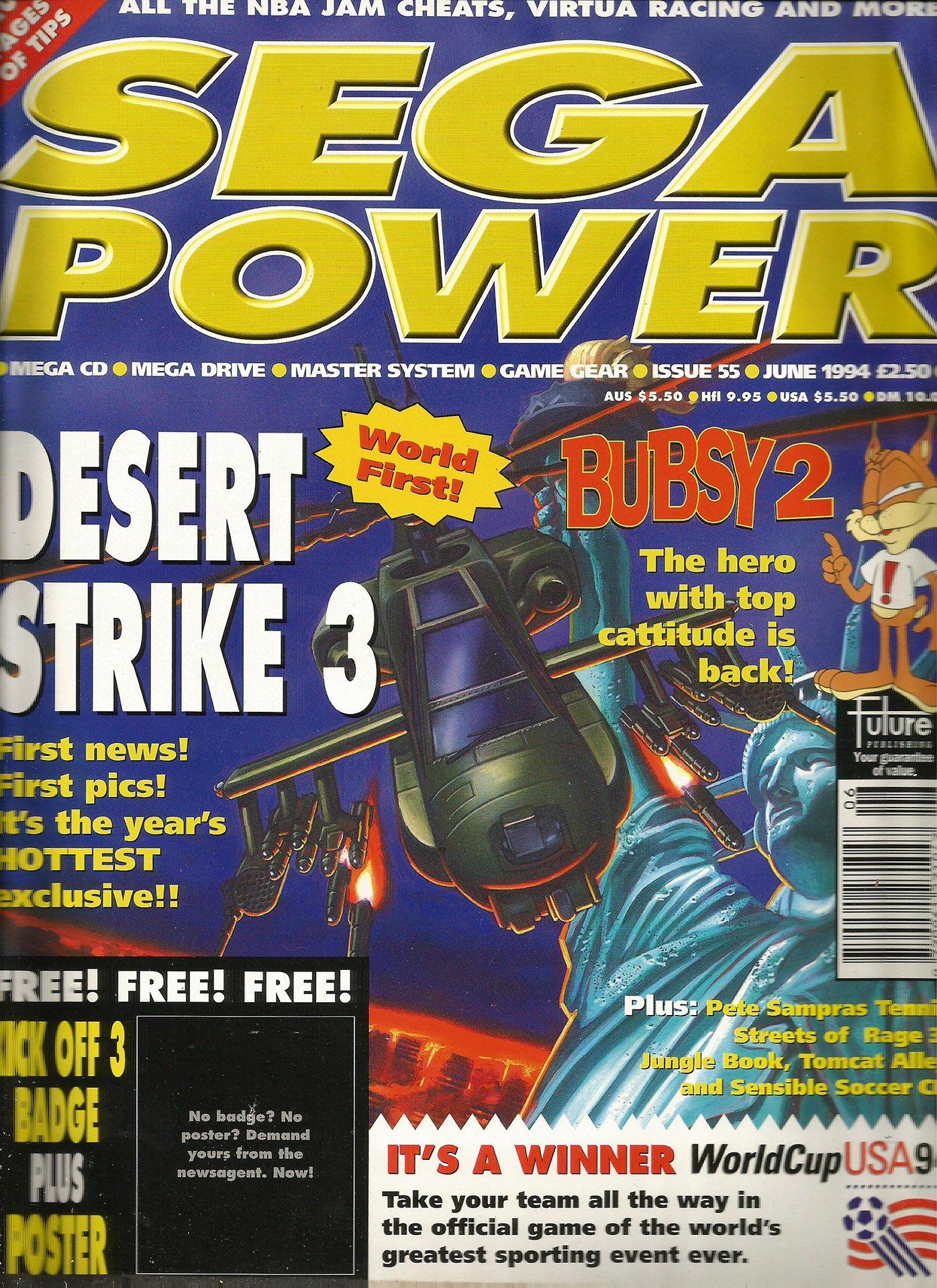 Sega Power Issue 55 (June 1994)