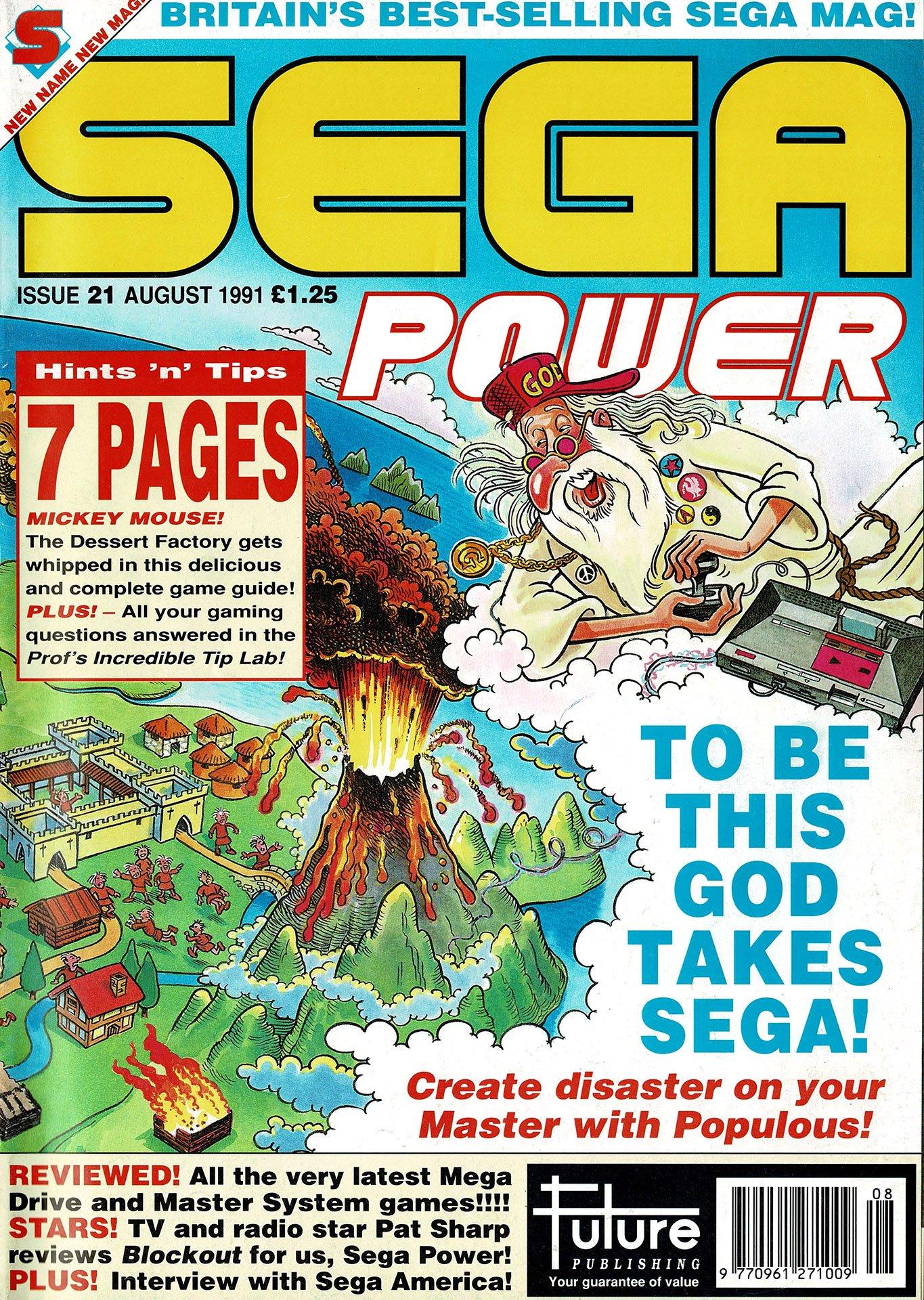 Sega Power Issue 21 (August 1991)