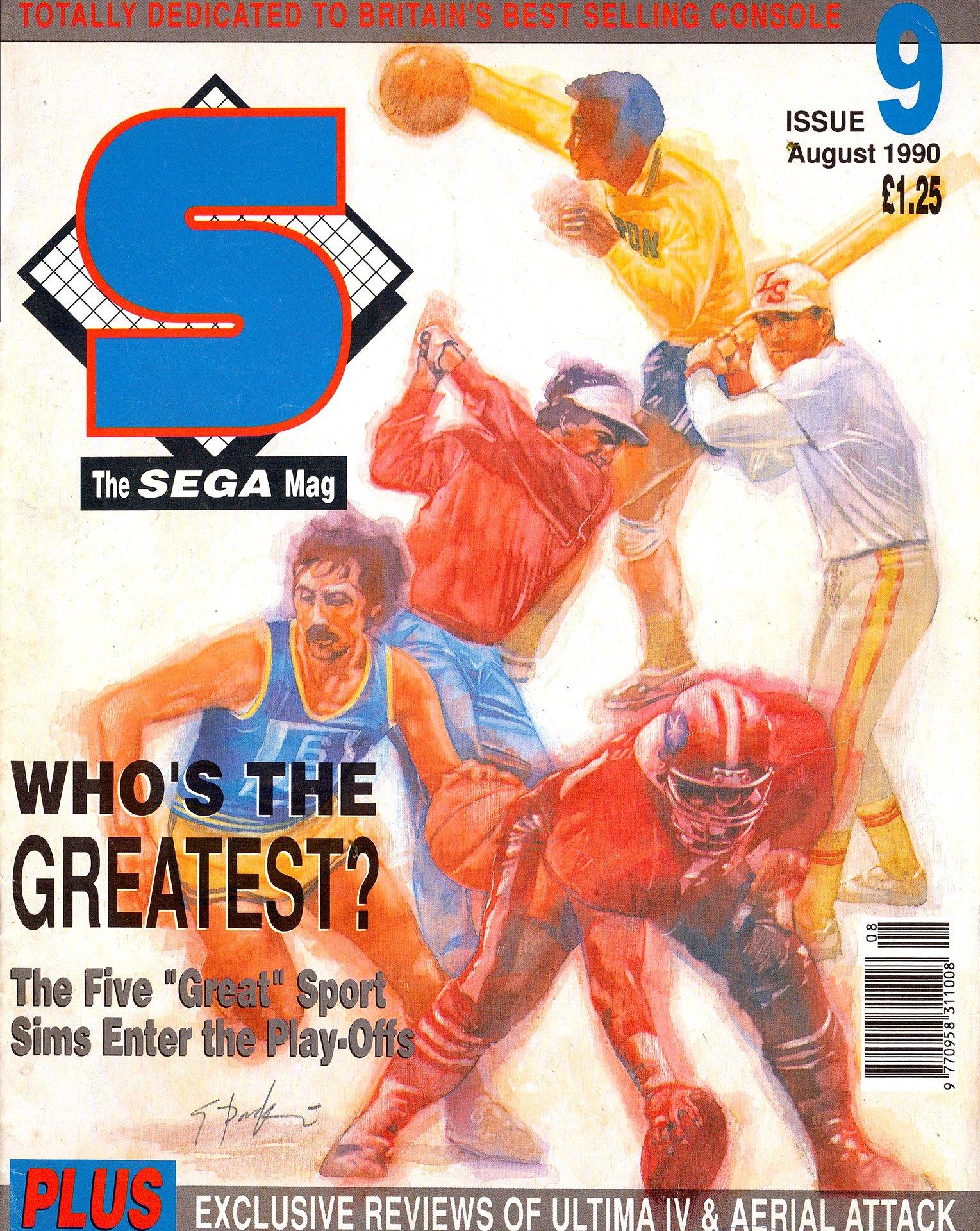 S: The Sega Magazine Issue 09 (August 1990)