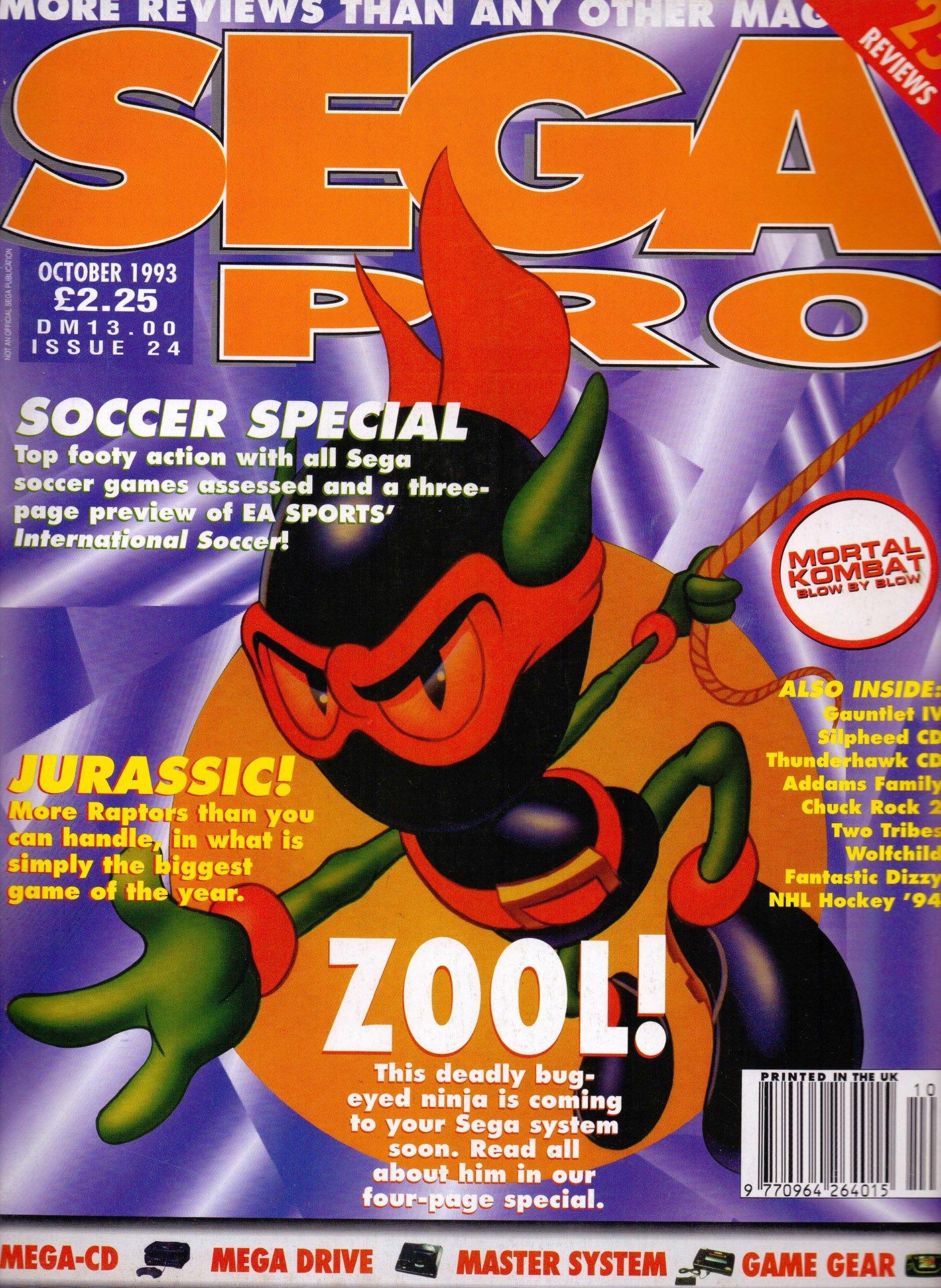 Sega Pro 24 (October 1993)