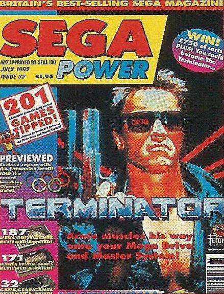 Sega Power Issue 32 (July 1992)