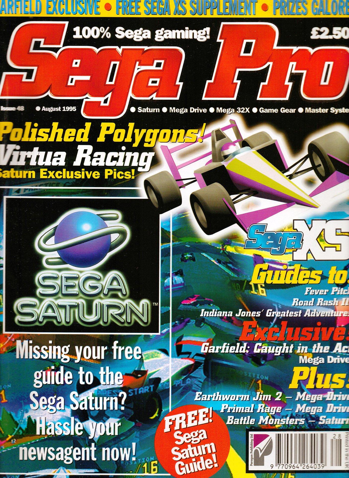Sega Pro 48 (August 1995)