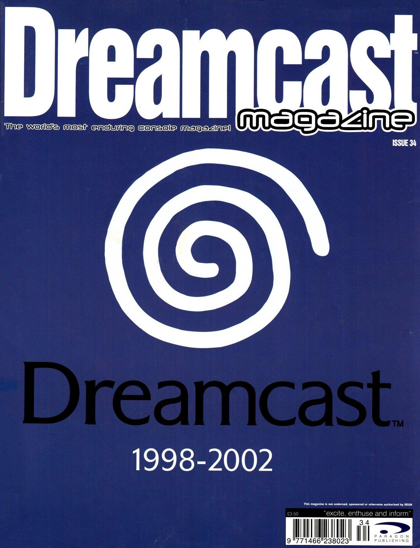 Dreamcast Magazine 34 (April 2002)