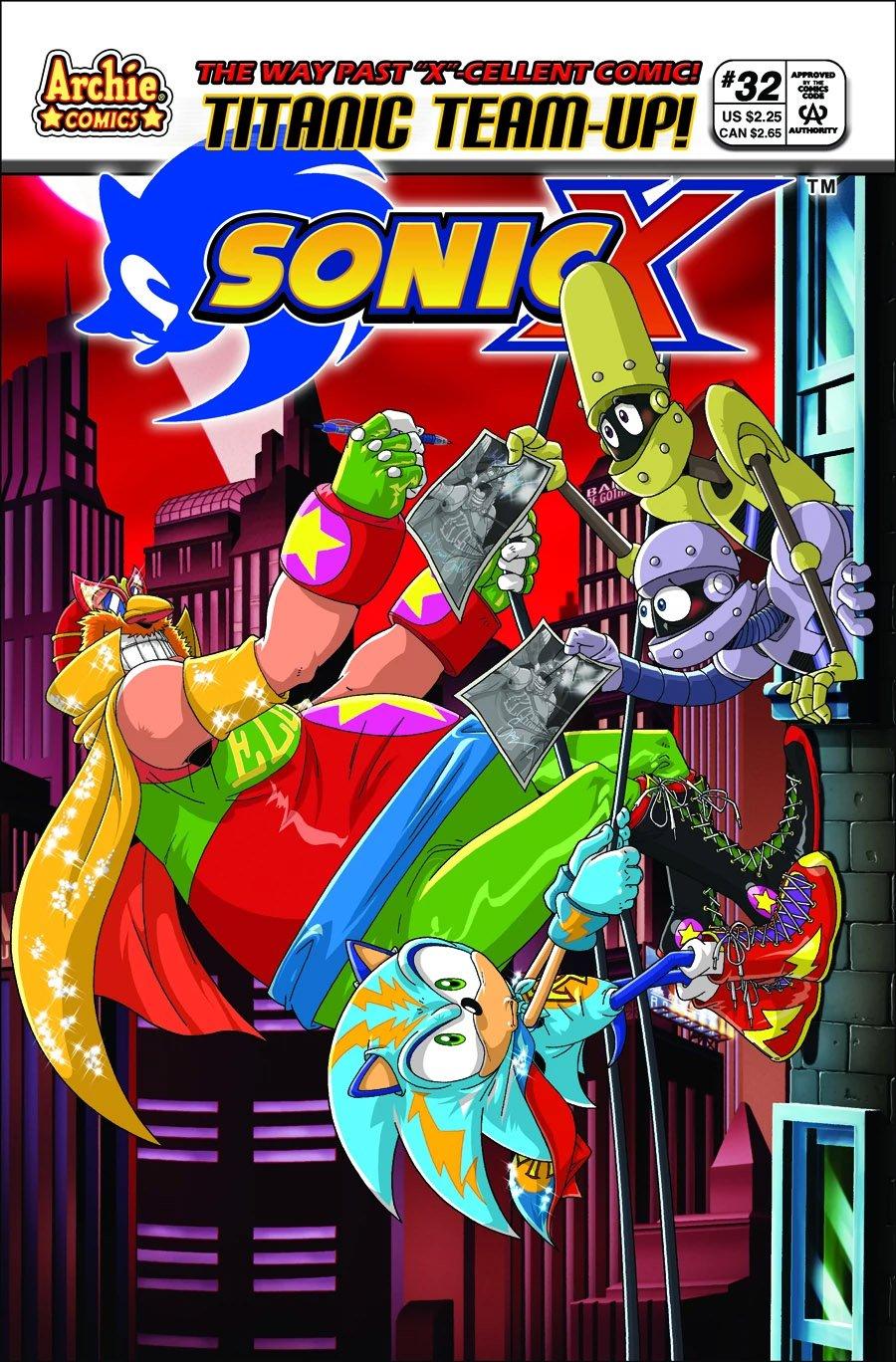 Sonic X 032 (June 2008)