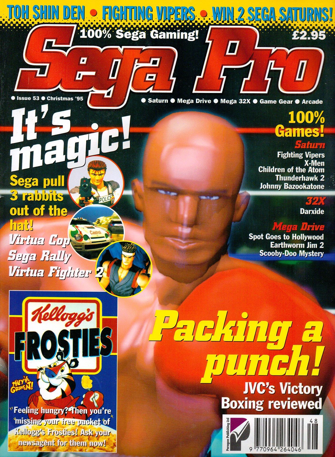 Sega Pro 53 (Christmas 1995)