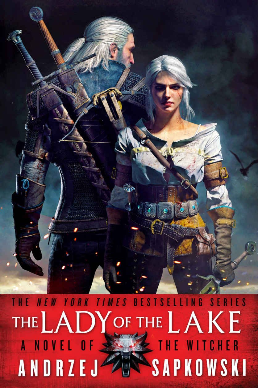 The Witcher: The Lady of the Lake (USA paperback edition)
