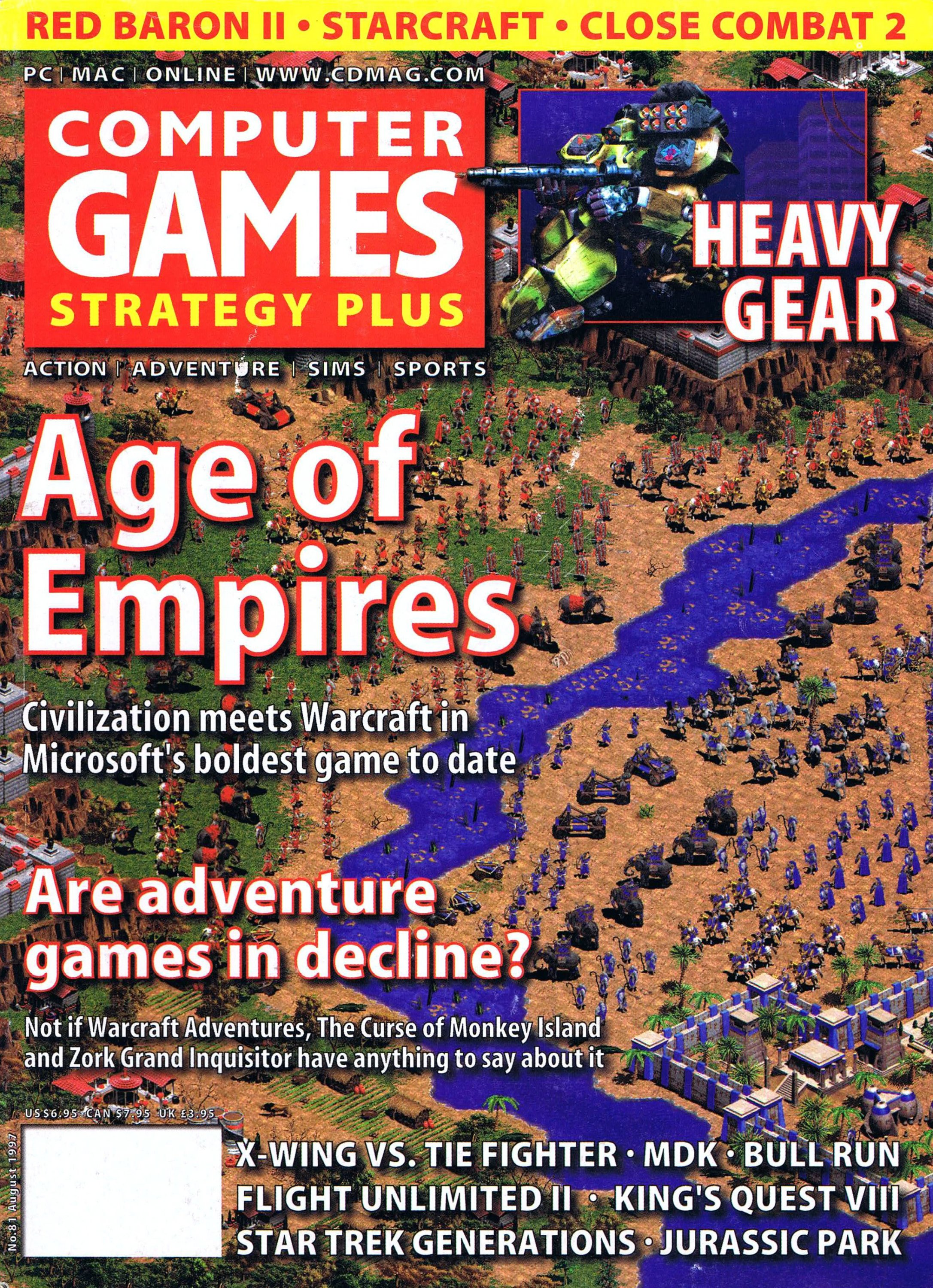 Computer Games Strategy Plus Issue 081 (August 1997)