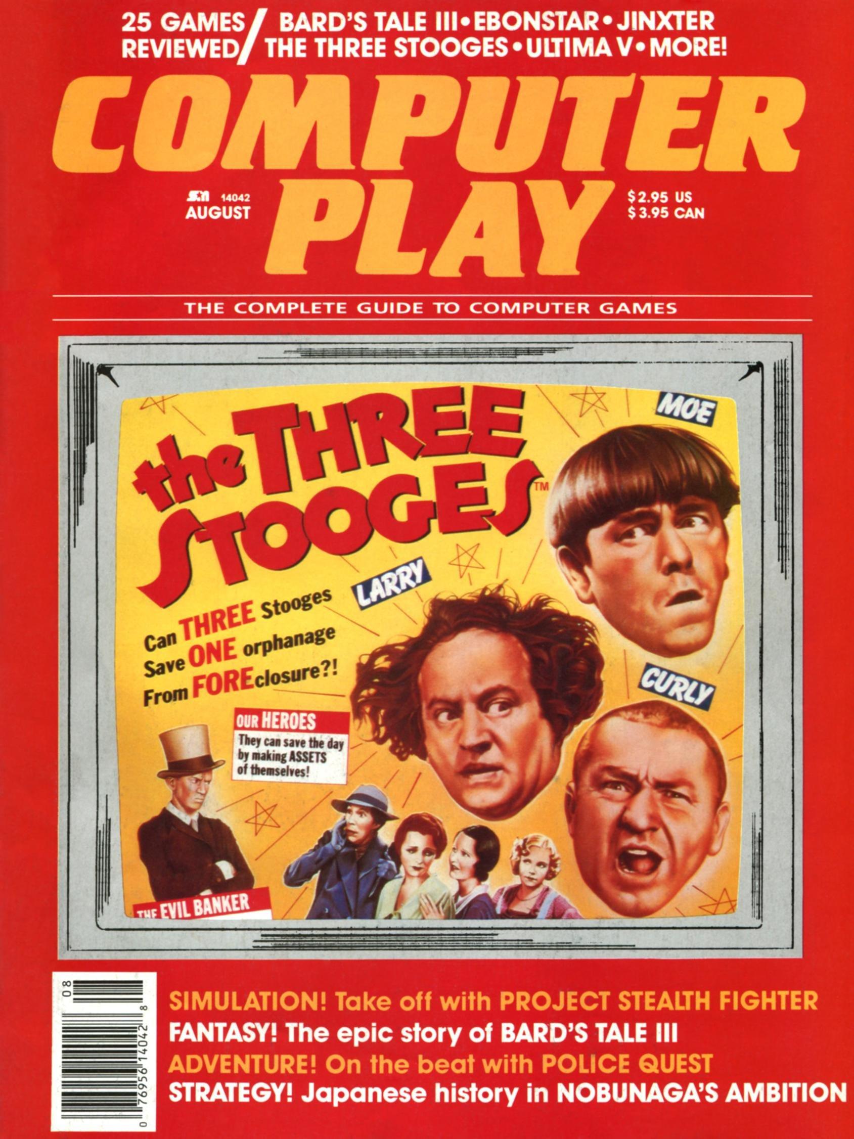 Computer Play Aug 1988