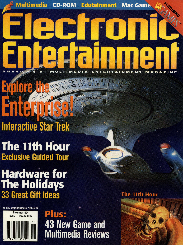 Electronic Entertainment Vol.1 No.11 (November 1994)