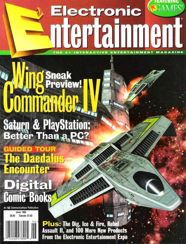 Electronic Entertainment Vol.2 No.06 (June 1995)