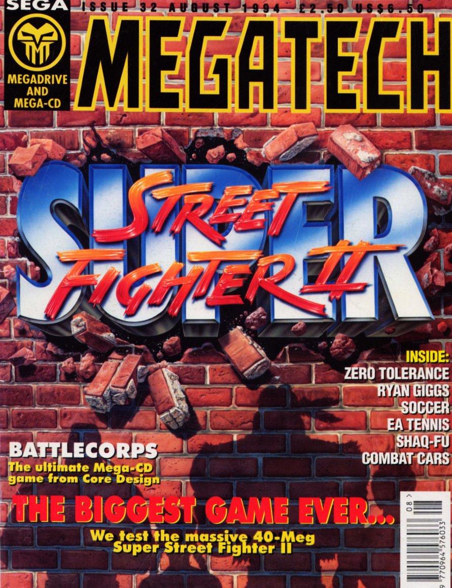 MegaTech 32 (August 1994)