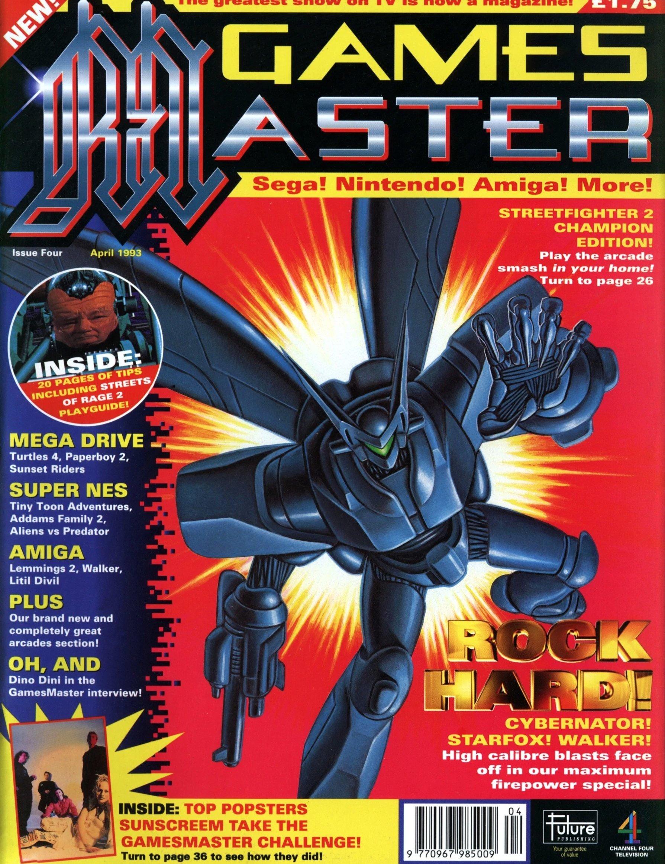 GamesMaster Issue 004 (April 1993)